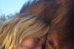 Anyta met paard
